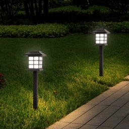 Solar Pathway Lights For Garden, Landscape, Path, Yard, Patio, Driveway, Walkway