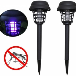 Solar Mosquito Killer Light for Walkway Garden Lawn Gardens Pathway